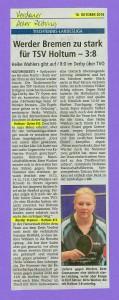 Bericht der Verdener-Aller-Zeitung vom 18.10.2016